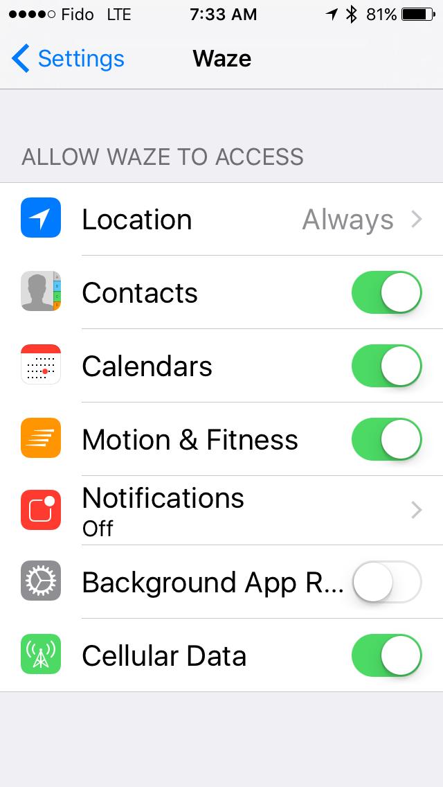Waze app review « John Galea's Blog